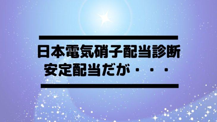 日本電気硝子(5214)の配当金診断。DOE目安で高配当だが配当性向は心配